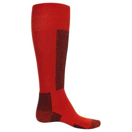 Thorlo Lightweight Ski Socks (For Men and Women) in Fire Red - 2nds