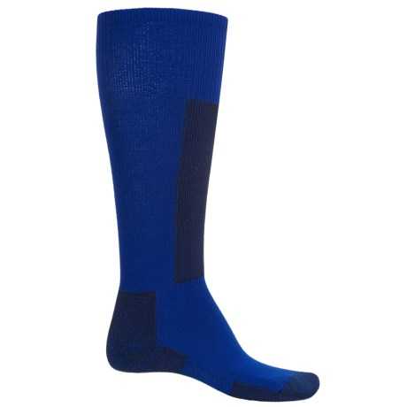 Thorlo Lightweight Ski Socks (For Men and Women) in Laser Blue/Black