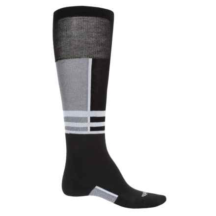 Thorlo Lightweight Ski Socks - Thermolite® (For Men and Women) in Powder White - 2nds