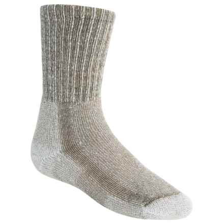 Thorlo Outdoor CoolMax® Socks - Crew (For Little and Big Kids) in Walnut Heather - 2nds