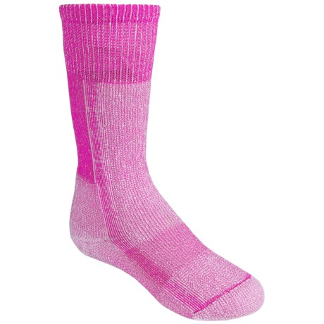 Thorlo Snow Socks - Thermolite® (For Kids) in Schuss Pink/White