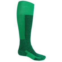Thorlo Thick Cushion Ski Socks - Midweight, Over the Calf (For Men and Women) in Mogul Mint - 2nds