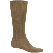 Thorlo THOR-LON® Anti-Fatigue Boot Socks - Heavyweight, Over the Calf (For Men and Women) in Coyote Brown - 2nds