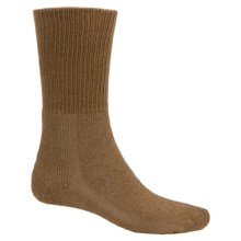 Thorlo THOR-LON® Boot Socks - Midweight, Mid-Calf (For Men and Women) in Coyote Brown - 2nds