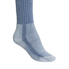 Thorlo THOR-LON® Cool-Max® Hiking Socks - Crew (For Women) in Blue - 2nds