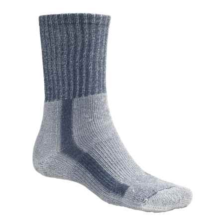 Thorlo THOR-LON® CoolMax® Hiking Socks - Crew (For Men) in Denim - 2nds