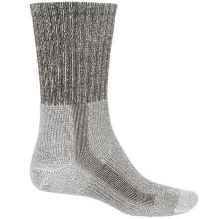 Thorlo THOR-LON® CoolMax® Hiking Socks - Crew (For Men) in Grape Leaf - 2nds