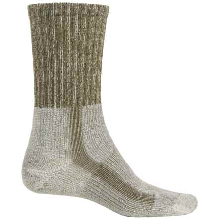 Thorlo THOR-LON® CoolMax® Hiking Socks - Crew (For Men) in Sage - 2nds