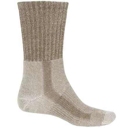 Thorlo THOR-LON® CoolMax® Hiking Socks - Crew (For Men) in Walnut Heather - 2nds
