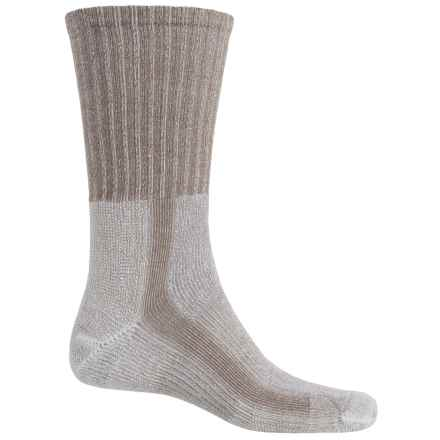 Thorlo THOR-LON® CoolMax® Hiking Socks - Crew (For Men) in Walnut - 2nds
