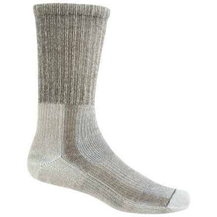 Thorlo THOR-LON® CoolMax® Hiking Socks - Crew (For Women) in Khaki - 2nds