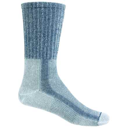 Thorlo THOR-LON® CoolMax® Hiking Socks - Crew (For Women) in Slate Blue - 2nds