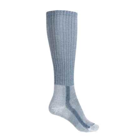 Thorlo THOR-LON® CoolMax® Light Hiking Socks - Over the Calf (For Women) in Slate Blue - 2nds