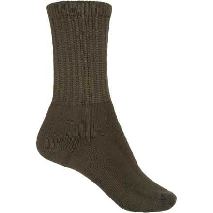 Thorlo THOR-LON® Hiking Socks - Crew (For Big Kids) in Grape Leaf - 2nds