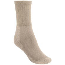 Thorlo THOR-LON® Hiking Socks - Crew (For Women) in Khaki Heather - 2nds