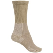 Thorlo THOR-LON® Hiking Socks - Crew (For Women) in Khaki - 2nds