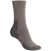 Thorlo THOR-LON® Hiking Socks - Crew (For Women) in Pewter - 2nds