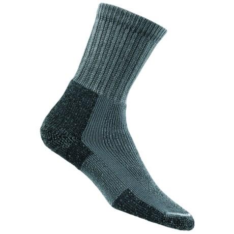 Thorlo THOR-LON® Hiking Socks - Crew (For Women) in Slate Blue