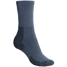 Thorlo THOR-LON® Hiking Socks - Crew (For Women) in Slate Blue - 2nds