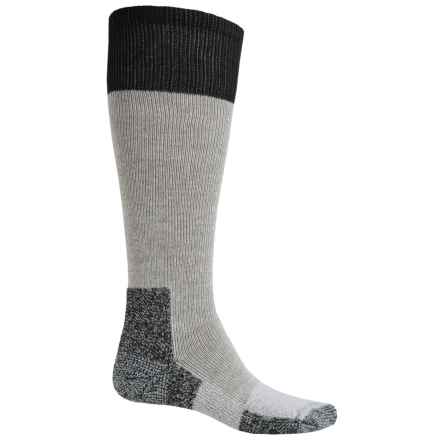 Thorlo THOR-LON® Thermolite Hunting Socks - Over the Calf (For Men and Women) in Grey/Black - 2nds