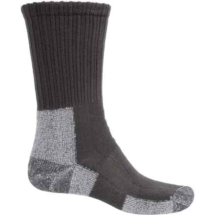Thorlo THOR-LON® Trail Hiking Socks - Crew (For Men) in Castlerock Grey - 2nds