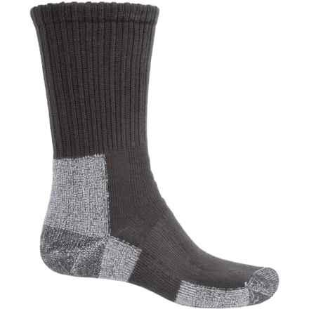 Thorlo THOR-LON® Trail Hiking Socks - Crew (For Men) in Castlerock Grey - 2nds