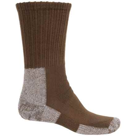 Thorlo THOR-LON® Trail Hiking Socks - Crew (For Men) in Chestnut - 2nds