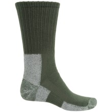 Thorlo THOR-LON® Trail Hiking Socks - Crew (For Men) in Forest Green - 2nds