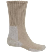 Thorlo THOR-LON® Trail Hiking Socks - Crew (For Men) in Khaki - 2nds
