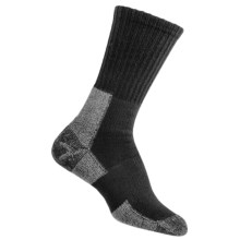Thorlo THOR-LON® Trail Hiking Socks - Crew (For Women) in Castlerock Grey - 2nds
