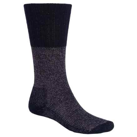Thorlo THOR-LON® Western Boot Socks - Mid Calf (For Men and Women) in Navy - 2nds