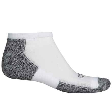 Thorlo THOR-WICK COOL Running Socks - Below the Ankle (For Men) in White - 2nds