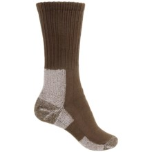 Thorlo Trail Hiking Socks - Crew (For Women) in Chestnut - 2nds