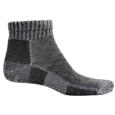 Thorlo Trail Runner Socks - Ankle (For Men and Women) in Charcoal Heather - 2nds