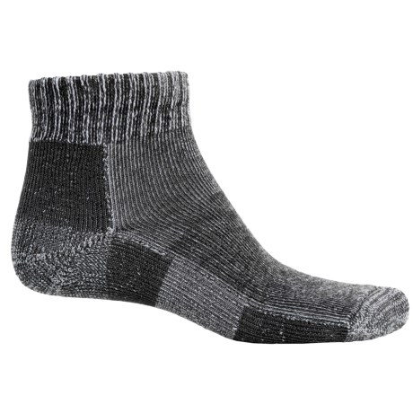 Thorlo Trail Runner Socks - Ankle (For Men and Women) in Charcoal Heather