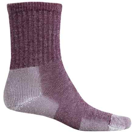 Thorlo Ultralight Hiking Socks - CoolMax®, Crew (For Men and Women) in Grapewine - 2nds