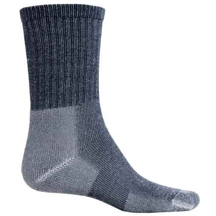 Thorlo Ultralight Hiking Socks - CoolMax®, Crew (For Men and Women) in Lake Blue - 2nds