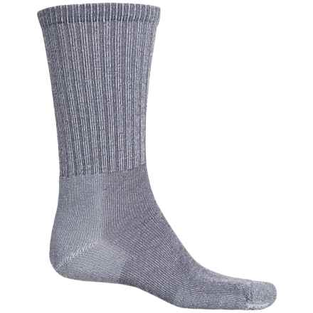 Thorlo Ultralight Hiking Socks - CoolMax®, Crew (For Men and Women) in Quarry Grey - 2nds