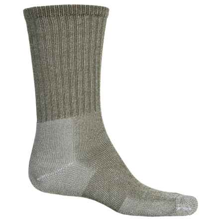 Thorlo Ultralight Hiking Socks - CoolMax®, Crew (For Men and Women) in Willow Green - 2nds