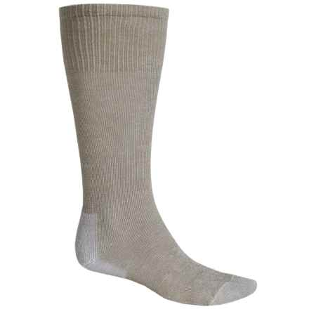Thorlo Ultralight Hiking Socks - CoolMax®, Over the Calf (For Men and Women) in Cornstalk Brown - 2nds
