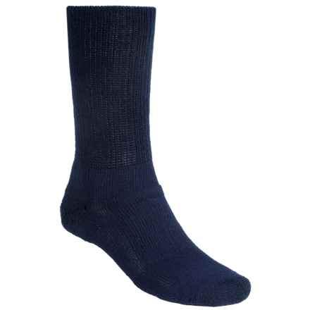 Thorlo Walking Socks - Crew (For Men and Women) in Navy - 2nds