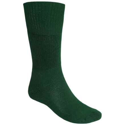 Thorlo Western Boot Socks -  Over the Calf (For Men and Women) in Dark Green - 2nds