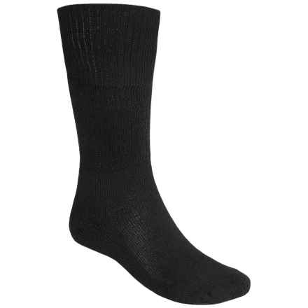 Thorlo Western Dress Socks -  Over the Calf (For Men and Women) in Black - 2nds