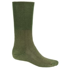 Thorlo X-Static® Boot Socks - Mid-Calf (For Men and Women) in Olive - 2nds
