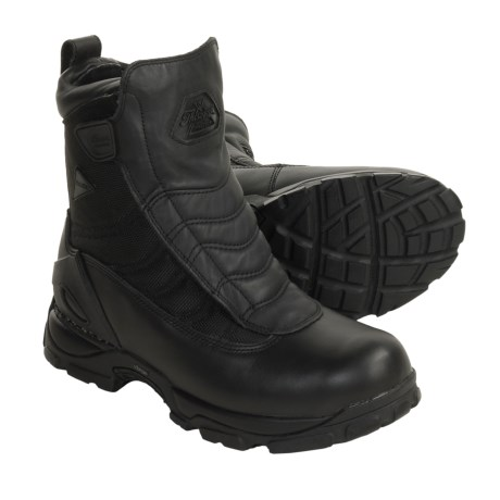 Thorogood Omega Work Boots - Waterproof, Leather-Nylon (For Men) in Black
