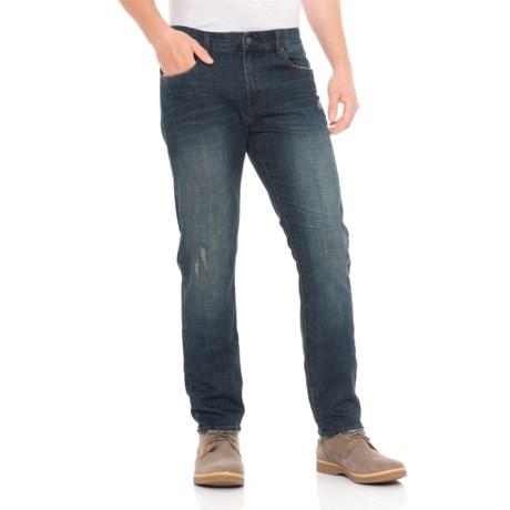 Thread & Cloth Slim Straight Fit Jeans (For Men) in Indigo