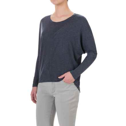 Threads 4 Thought Ally High-Low Shirt - Long Sleeve (For Women) in Midnight - Closeouts