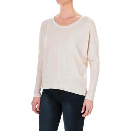 Threads 4 Thought Ally High-Low Shirt - Long Sleeve (For Women) in Oatmeal - Closeouts