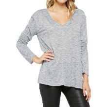 Threads 4 Thought Aria T-Shirt - Long Sleeve (For Women) in Marble - Closeouts