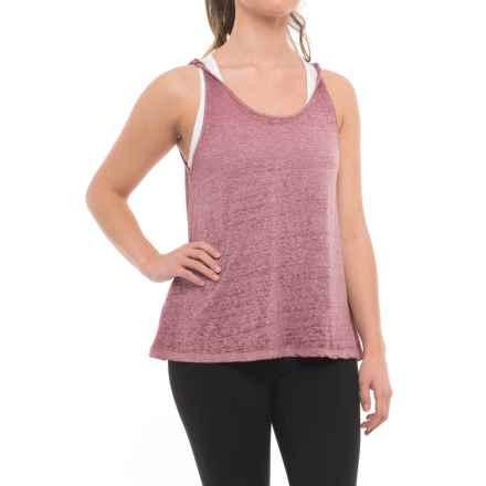 Threads 4 Thought Audley Tank Top - Organic Cotton Blend (For Women) in Dusty Plum - Closeouts
